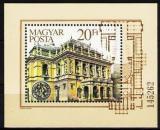 Poštovní známka Maďarsko 1984 Státní opera Mi# Block 173
