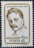 Poštovní známka Maďarsko 1984 Béla Balázs, básník Mi# 3716