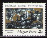 Poštovní známka Maďarsko 1983 Umění, Szász Mi# 3597