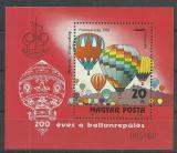 Poštovní známka Maďarsko 1983 Letectví Mi# Block 162