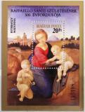 Poštovní známka Maďarsko 1983 Umění, Raffael Mi# Block 164