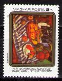 Poštovní známka Maďarsko 1983 Umění, Czóbel Mi# 3635