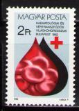 Poštovní známka Maďarsko 1982 Kongres hematologie Mi# 3569