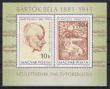 Poštovní známky Maďarsko 1981 Béla Bartók Mi# Block 148