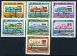 Poštovní známky Maďarsko 1981 Lodě Mi# 3514-20