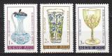 Poštovní známky Maďarsko 1980 Výrobky ze skla Mi# 3445-47