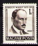 Poštovní známka Maďarsko 1962 Mihály Károlyi, politik Mi# 1816