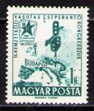 Poštovní známka Maďarsko 1962 Kongres esperanta Mi# 1819
