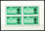 Poštovní známka Maďarsko 1962 Boj proti malárii Mi# Block 35