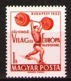 Poštovní známka Maďarsko 1962 Vzpírání Mi# 1865