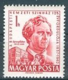 Poštovní známka Maďarsko 1962 Gábor Egressy, herec Mi# 1867