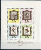 Poštovní známky Maďarsko 1962 Filatelie Mi# Block 36