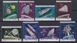 Poštovní známky Maďarsko 1964 Průzkum vesmíru Mi# 1991-98