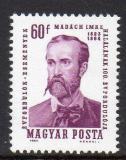 Poštovní známka Maďarsko 1964 Imre Madách, dramatik Mi# 2022