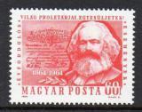 Poštovní známka Maďarsko 1964 Karel Marx Mi# 2068