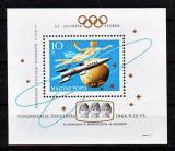 Poštovní známka Maďarsko 1964 Průzkum vesmíru Mi# Block 44