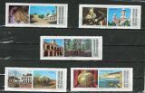 Poštovní známky Argentina 1975 Pamětihodnosti Mi# 1208-12