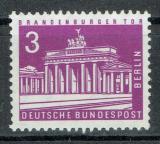 Poštovní známka Západní Berlín 1963 Brandenburská brána Mi# 231