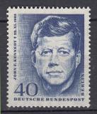 Poštovní známka Západní Berlín 1964 Prezident John F. Kennedy Mi# 241