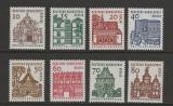 Poštovní známky Západní Berlín 1964-65 Architektura Mi# 242-49