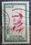 Poštovní známka Maroko 1956 Sultan Mohammed V Mi# 410