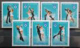 Poštovní známky Maďarsko 1983 ZOH Sarajevo, krasobruslení Mi# 3652-58