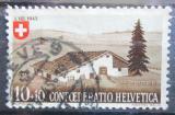 Poštovní známka Švýcarsko 1945 Farma v Juře Mi# 461