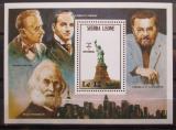 Poštovní známka Sierra Leone 1986 Socha svobody Mi# Block 43