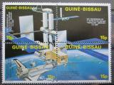 Poštovní známky Guinea-Bissau 1985 Průzkum vesmíru Mi# 905-08 Kat 26€
