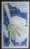 Poštovní známka Francouzská Antarktida 1981 Satelit Arcad III Mi# 164