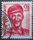 Poštovní známka Sársko 1948 Dělník Mi# 242