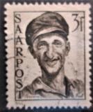 Poštovní známka Sársko 1948 Dělník Mi# 243