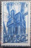 Poštovní známka Sársko 1948 Vysoká pec Mi# 248
