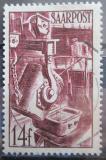 Poštovní známka Sársko 1948 Slévárna Mi# 249
