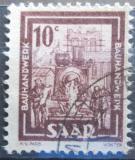 Poštovní známky Sársko 1949 Stavební dělníci Mi# 272