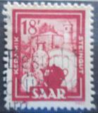 Poštovní známka Sársko 1951 Keramický průmysl Mi# 282