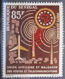 Poštovní známka Senegal 1963 Poštovní unie Mi# 273