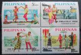 Poštovní známky Filipíny 1969 Týden filatelie Mi# 907-10