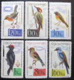 Poštovní známky Československo 1964 Ptáci Mi# 1401-06 Po# 1401-06