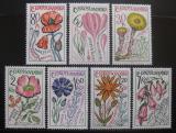 Poštovní známky Československo 1965 Léčivé rostliny Mi# 1583-89 Po# 1489-95