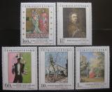 Poštovní známky Československo 1967 Umění Mi# 1748-52 Po# 1647-51