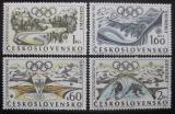 Poštovní známky Československo 1968 ZOH Grenoble Mi# 1763-66 Po# 1656-59