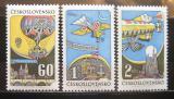 Poštovní známky Československo 1968 Historie létání Mi# 1767-69