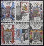 Poštovní známky Československo 1968 LOH Mexiko Mi# 1781-86 Po# 1671-76
