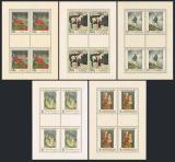 Poštovní známky Československo 1968 Umění Mi# 1839-43 Bogen Po# 1729-33 PL