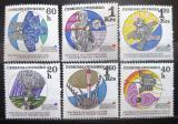 Poštovní známky Československo 1970 Interkosmos Mi# 1970-75 Po# 1858-63