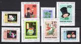 Poštovní známky Maďarsko 1963 Nový rok Mi# 1983-90