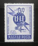 Poštovní známka Maďarsko 1965 ITU kongres Mi# 2124