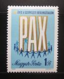 Poštovní známka Maďarsko 1969 Mírové hnutí Mi# 2518