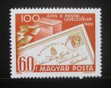Poštovní známka Maďarsko 1969 Poštovní lístek Mi# 2543